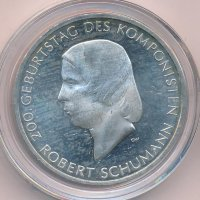 Germany 10 Euro 2010 - Robert Schumann