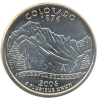 United States 25 cents 2006 - Colorado (D)