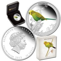 Australia 50 cents 2013 Birds of Australia. Budgie