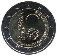 Estonia 2 Euro 2018 - 100 years of the Estonian Republic