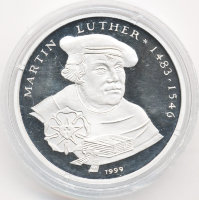 Togo 1000 francs 1999 - Martin Luther