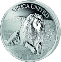 United Africa 1500 francs 2017 - a Union of countries. Leo