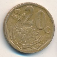 South Africa 20 cents, 2003