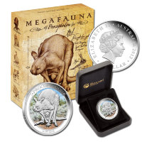 Australia 1 dollar 2013 - Megafauna. Giant short faced kangaroo