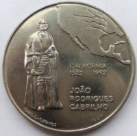 Portugal 200 Escudos 1992 - Opening of California