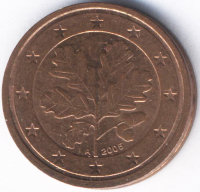 Germany 2 Euro cent 2005 (a)
