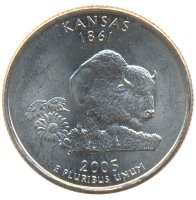 United States 25 cents 2005 - Kansas (D)