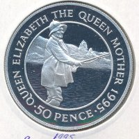 Ascension 50 pence 1995